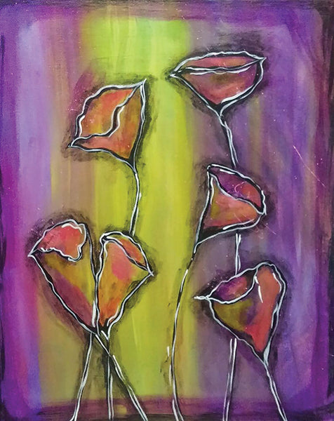 "Painting & Pints: ""Bright Buds"" at Brix Taphouse & Brewery (Greeley)"