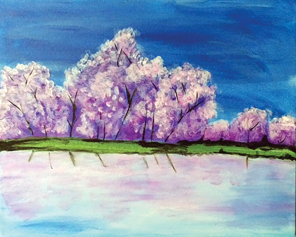 "Painting and Pints: ""Lilac Shore"" at Brix Taphouse & Brewery (Greeley)"