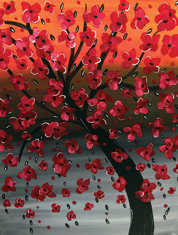 "Painting & Pints: ""Scarlet Tree"" at Brix Taphouse & Brewery (Greeley)"