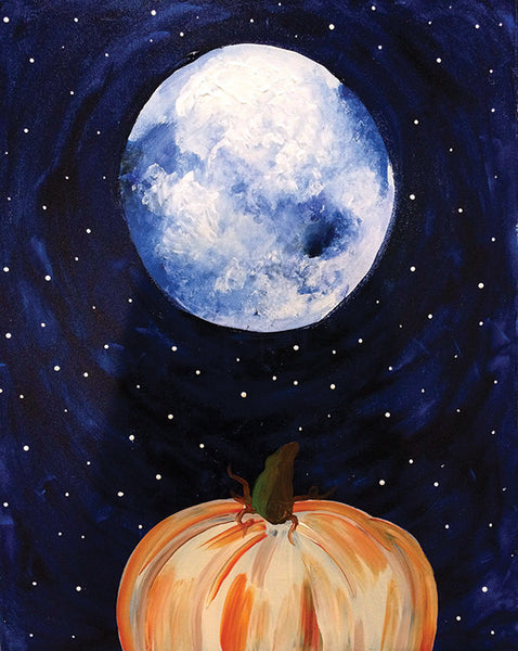 "Painting & Pints: ""Moonlit Harvest"" at Brix Taphouse & Brewery (Greeley)"
