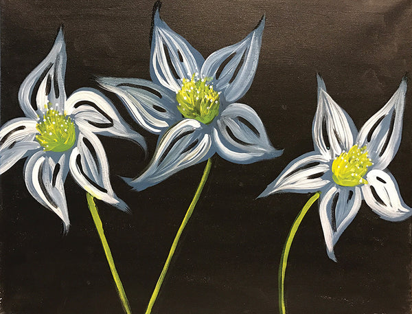 "Painting and Pints: ""Frosted Petals"" at Climb Hard Cider"