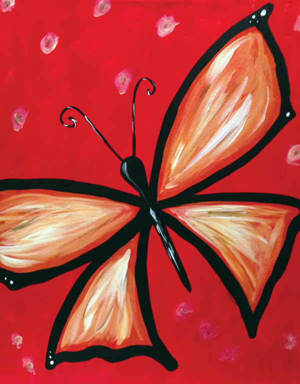 Butterfly By Fundraiser at The Tavern (Greeley)