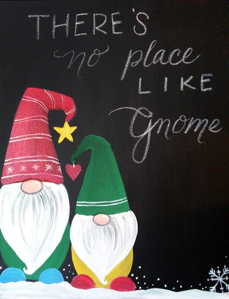 There's No Place Like Gnome Paint-at-Home Kit