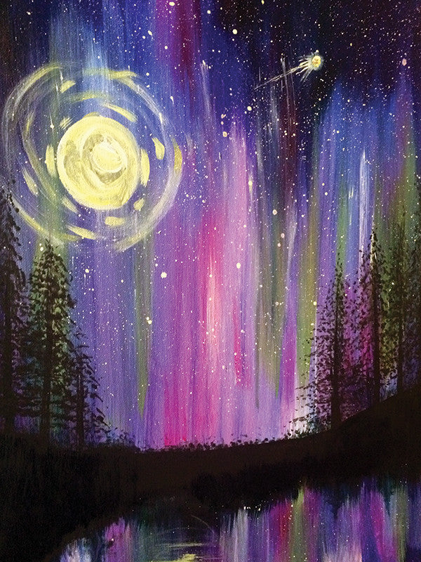 "Painting and Pints: ""Night Lights"" at Loveland Aleworks"