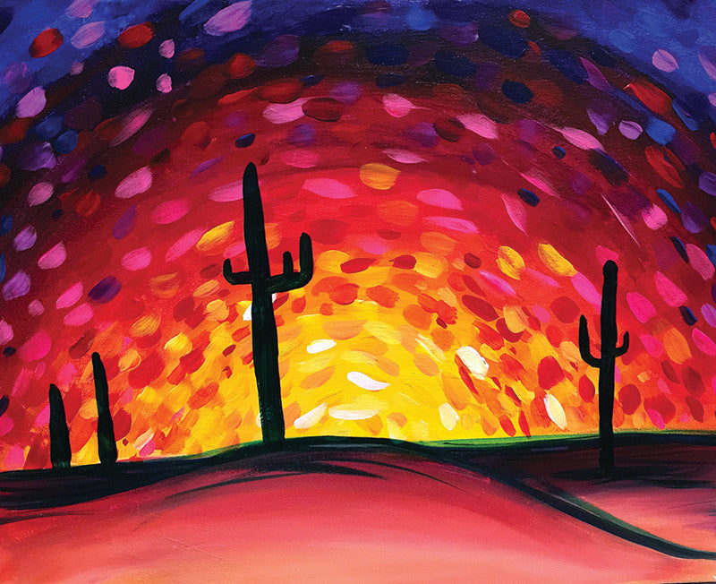"Painting and Pints: ""Desert Sunset"" at City Star Brewing (Berthoud)"