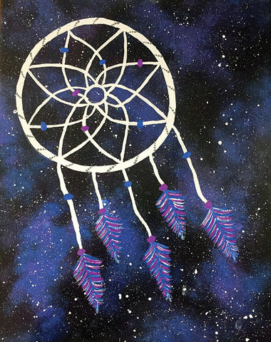 "Painting and Pints: ""Cosmic Dreams"" at Verboten Brewing"