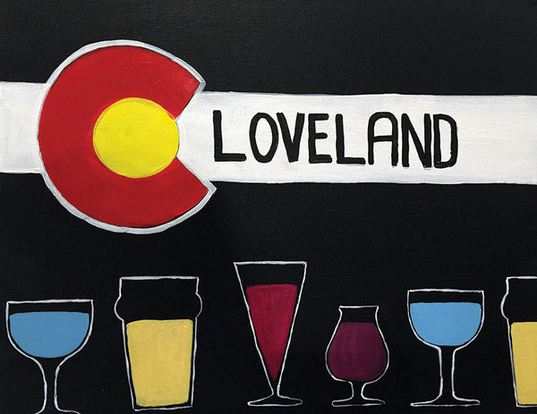 "Painting and Pints: ""Loveland Brews"" at Loveland Aleworks"