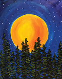 "Painting and Pints: ""Rising Moon"" at Loveland Aleworks"