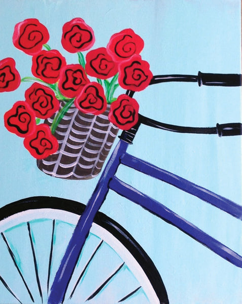 "Painting and Pints: ""Basket of Blooms"" at Climb Hard Cider"