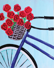 "Painting and Pints: ""Basket of Blooms"" at City Star Brewing (Berthoud)"