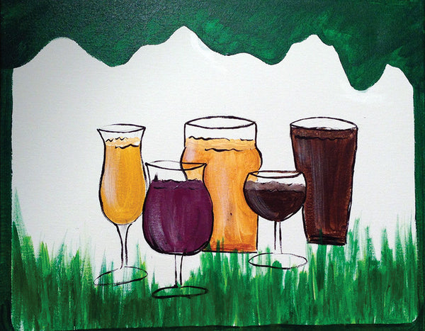 Painting and Pints: Colorado Brews
