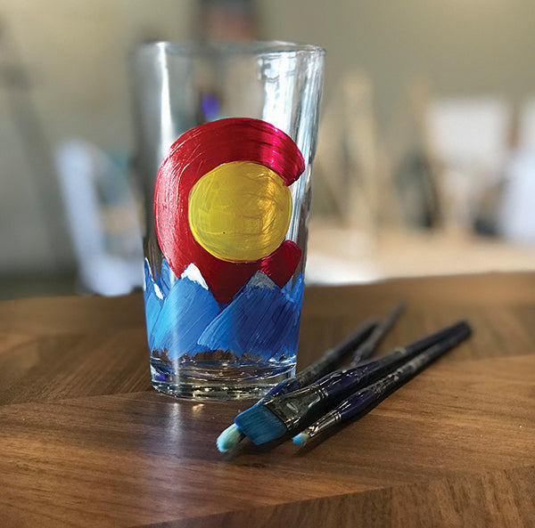 "Painted Pints: ""Colorado Mountains"" at Loveland Aleworks"