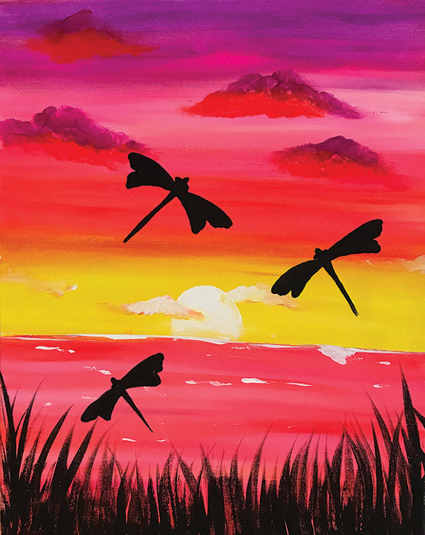 "Painting and Pints: ""Summer Sunset"" at Loveland Aleworks"