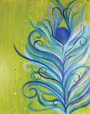 "Painting and Pints: ""Funky Feather"" at Brix Taphouse & Brewery (Greeley)"