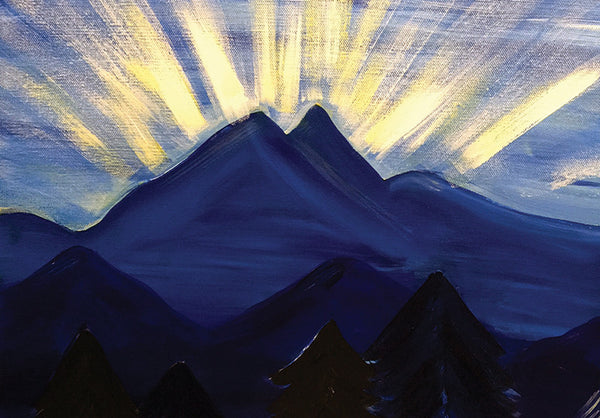 "Painting and Pints: ""Bright Skies"" at Oskar Blues (Longmont)"
