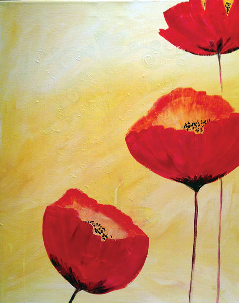 "Painting and Pints: ""Poppy Love"" at City Star Brewing (Berthoud)"