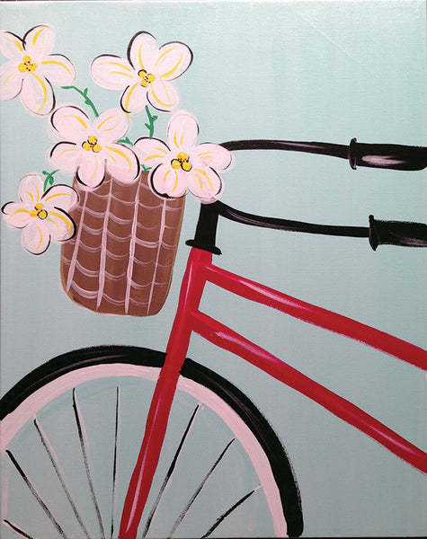 "Painting and Pints: ""Pedals & Petals"" at Loveland Aleworks"
