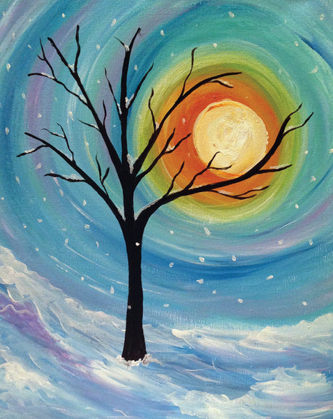 "Painting and Pints: ""Snowfall"" at Big Thompson Brewery"