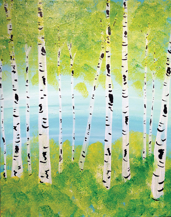 "Painting and Pints: ""Spring Majesty"" at Big Thompson Brewery"
