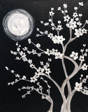 "Painting and Pints: ""Moonlit Blossoms"" at Loveland Aleworks"