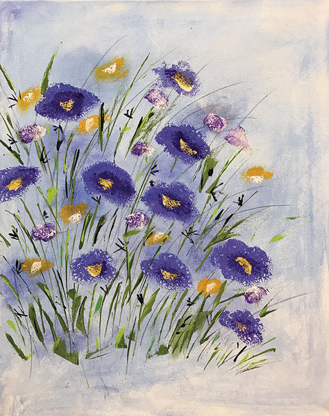 "Painting and Pints: ""Wild Violet"" at Loveland Aleworks"