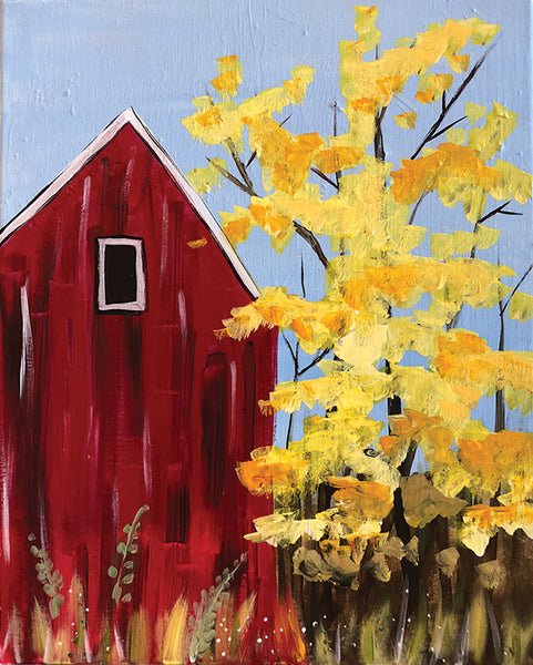 "Painting and Pints: ""Country Autumn"" at Loveland Aleworks"