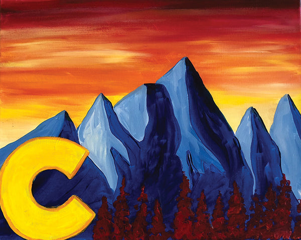 "Painting and Pints: ""Colorado Horizon"" at Verboten Brewing"