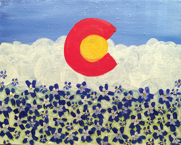 "Painting and Pints: ""Colorado Summer"" at Climb Hard Cider"