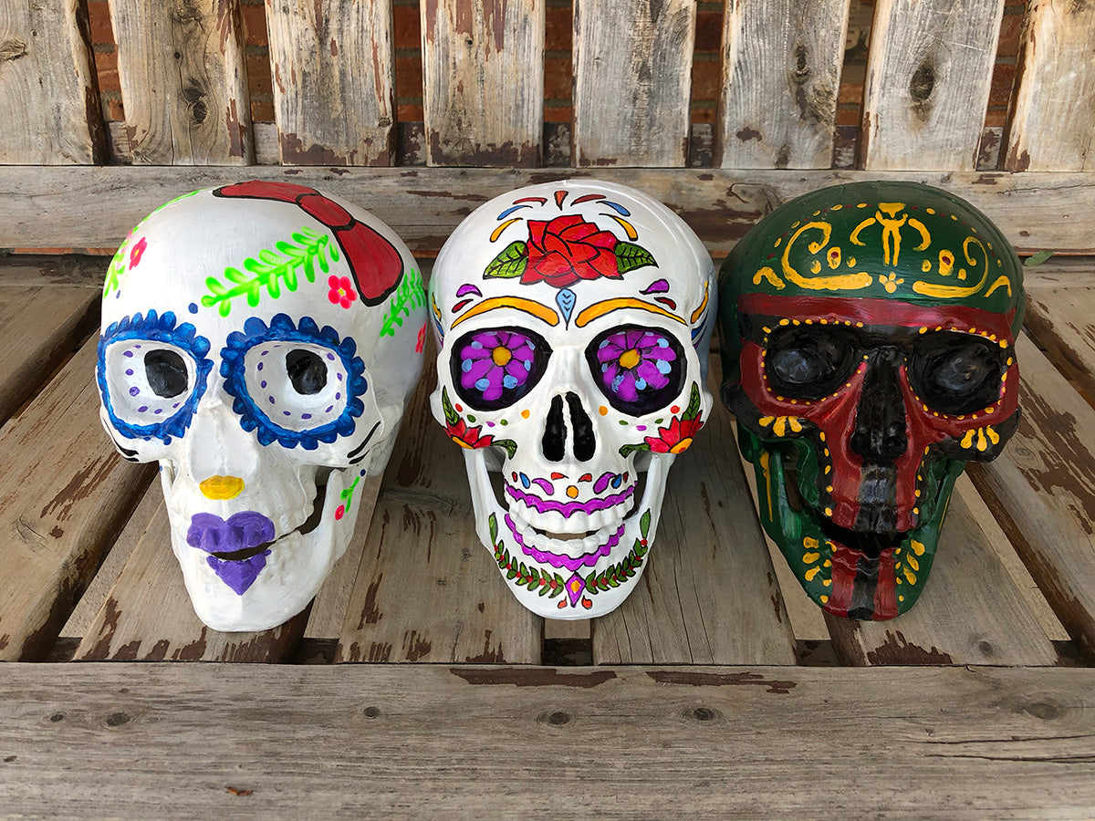 Sugar Skulls Paint-at-Home Kit