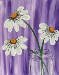 Jar of Daisies