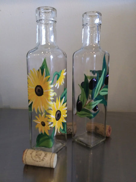 Olive Oil Bottles <br> at The Bottled Olive