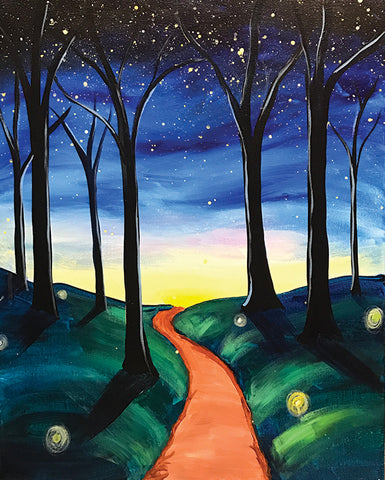 "Painting and Pints: ""Light Your Path"" at Verboten Brewing"