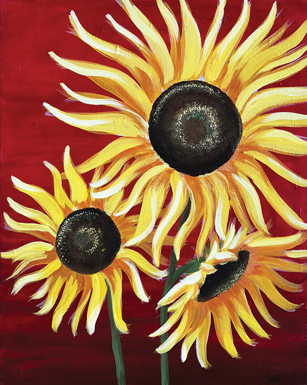 "Traveling Studio: ""Sunflowers"" at The Tavern in Greeley"