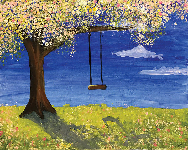 "Painting and Pints: ""Spring Swing"" at Climb Hard Cider"