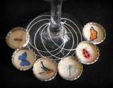 Crafts & Cocktails: Bottle Cap Wine Charms