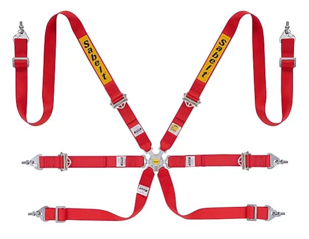 SABELT ENDURO HARNESS SILVER - FULL 2""