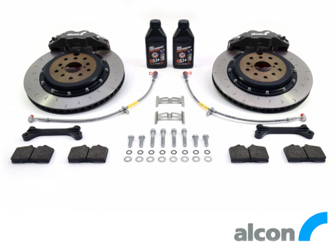 RCM / ALCON 4 POT REAR BRAKE KIT 343MM