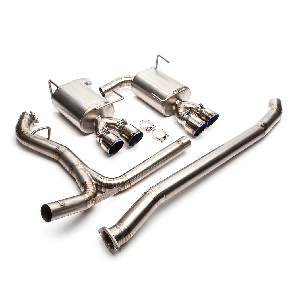 "SUBARU TITANIUM 3"" CAT-BACK EXHAUST 2015-2019 WRX / 2015-2019 STI"