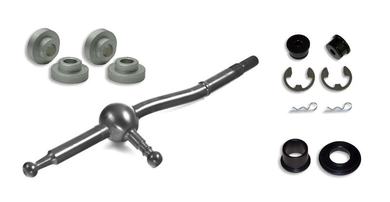Torque Solution Short Shifter, Base, Shifter Cable and Gate Selector Bushing Combo: Mitsubishi Evolution X 2010+