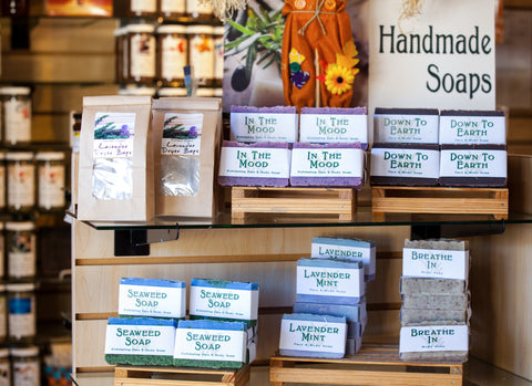 Herb Stop Handmade Soap Selection