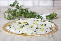 Za'atar with Labneh and thyme