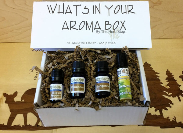The AromaBox Essential Oil Subscription for May