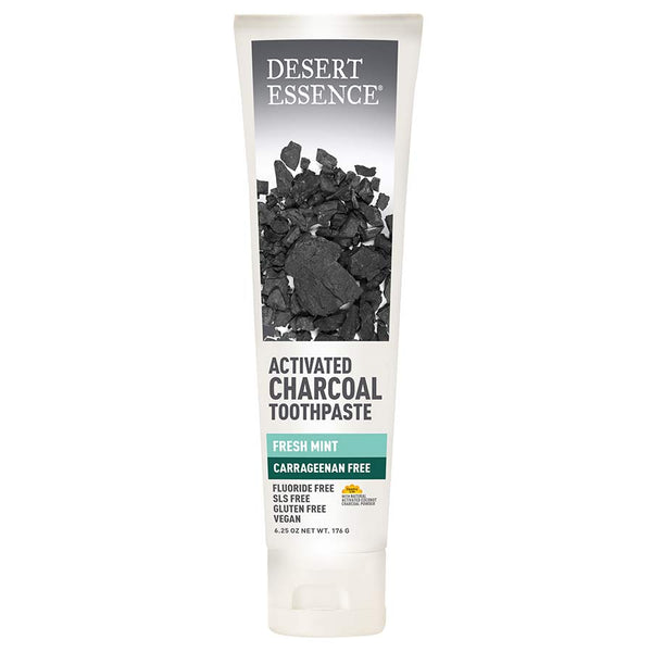 Desert Essence Activated Coconut Charcoal Toothpaste