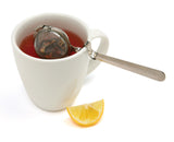 "2"" Mesh Tea Ball with Cup Rest Handle with Props"