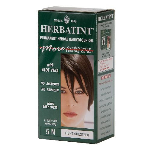 Herbatint Permanent Hair Dye - 5N Light Chestnut