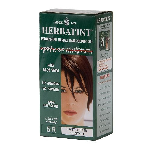 Herbatint Permanent Hair Dye - 5R Light Copper Chestnut