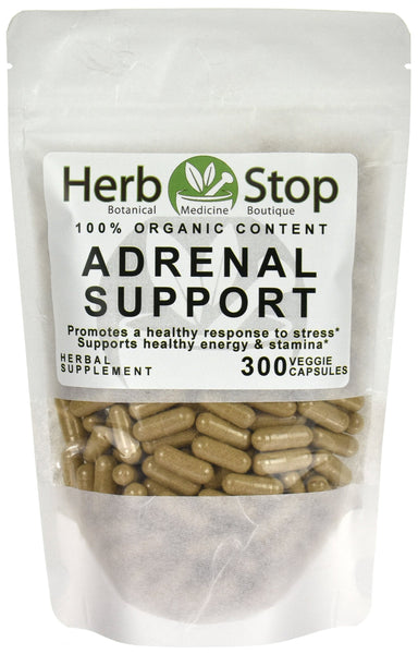Adrenal Support Capsules Bag