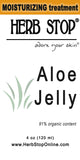 Aloe Jelly Label