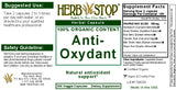 Anti-Oxydant Capsules Label