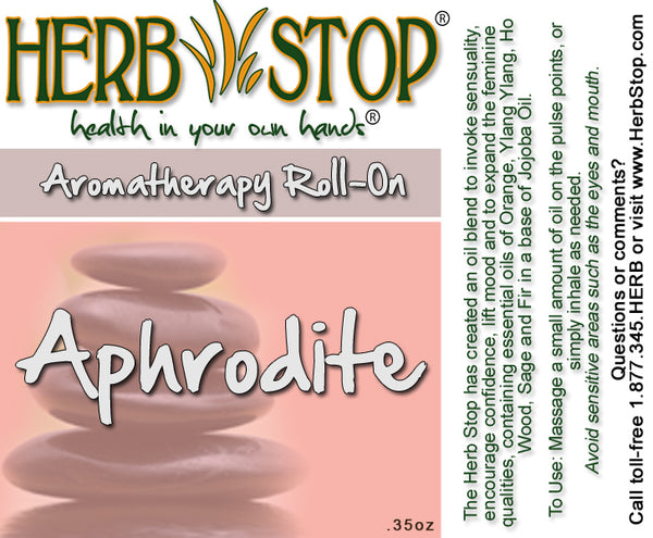 Aphrodite Roll-On Label
